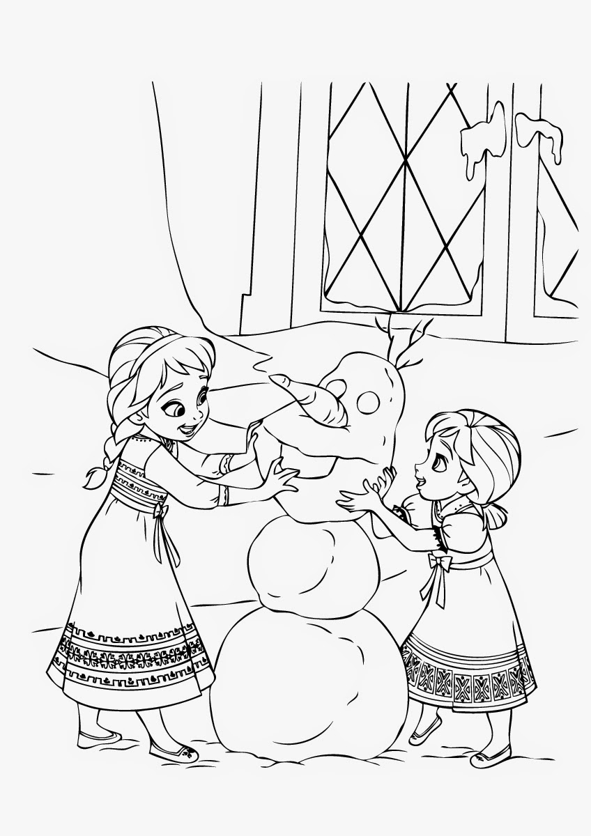 4 Beautiful Elsa Coloring Pages to Print ~ Instant Knowledge