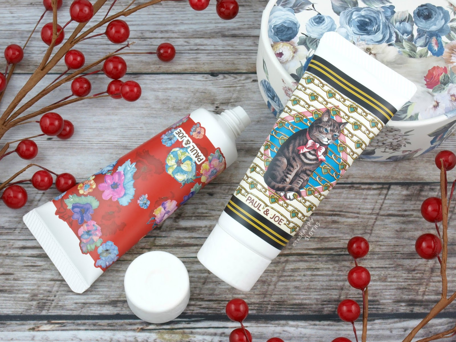 Paul & Joe | Holiday 2018 Collection | Silky Hand Cream & Moisturizing Hand Cream: Review