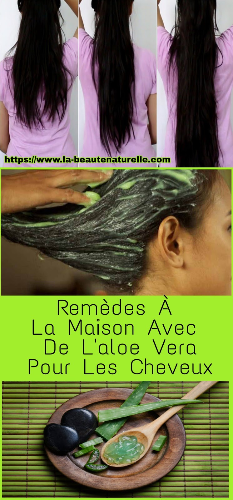 Remèdes À La Maison Avec De L'aloe Vera Pour Les Cheveux
