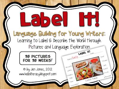 Hello Literacy Label It