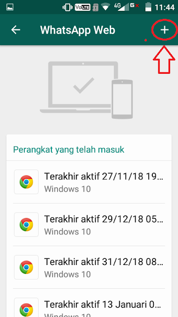 cara menggunakan whatsapp wa web di pc komputer; scan kode qr wa web; tomatalikuang.com