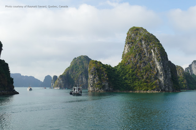 Halong Bay through Raynald Savard's lens