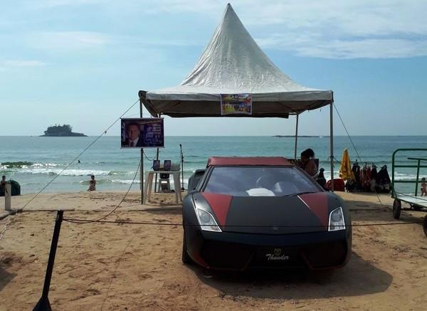 Pastor forja evento evangélico para vender carro na praia e culpa 'Satanás'