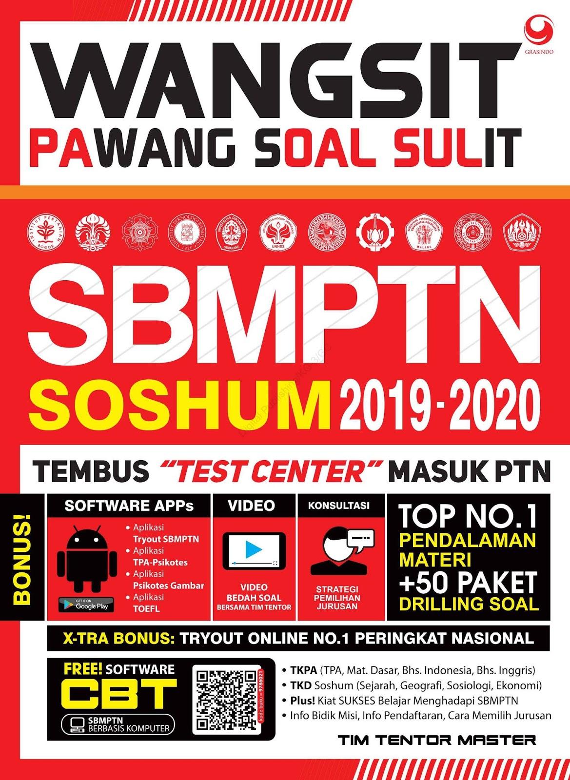 Wangsit (Pawang Soal Sulit) SBMPTN SOSHUM