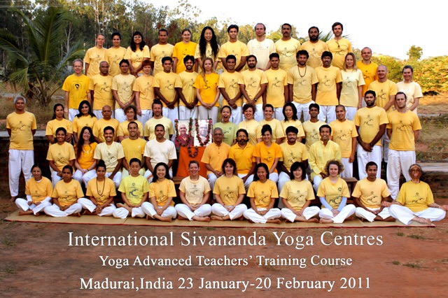 Sivananda Yoga Advanced Teachers Training Course Group January 2011