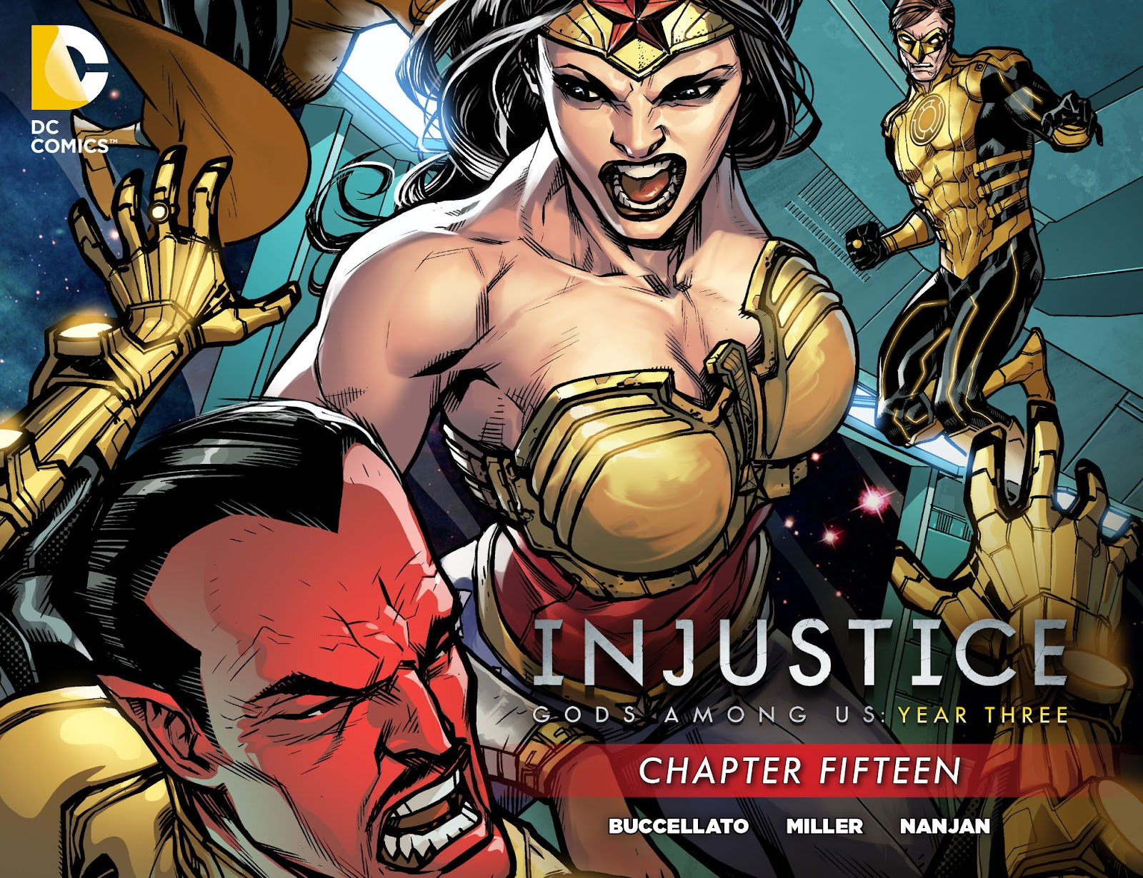Injustice - Gods Among Us Year Three issue 15 - Page 1