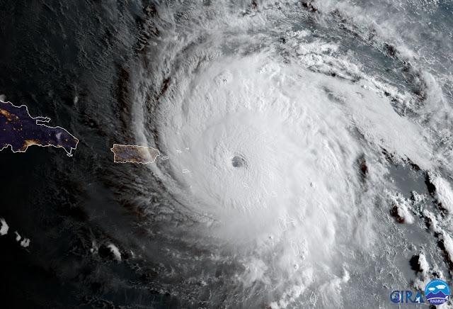 Huragan Irma - Karaiby, Floryda, Ameryka, USA