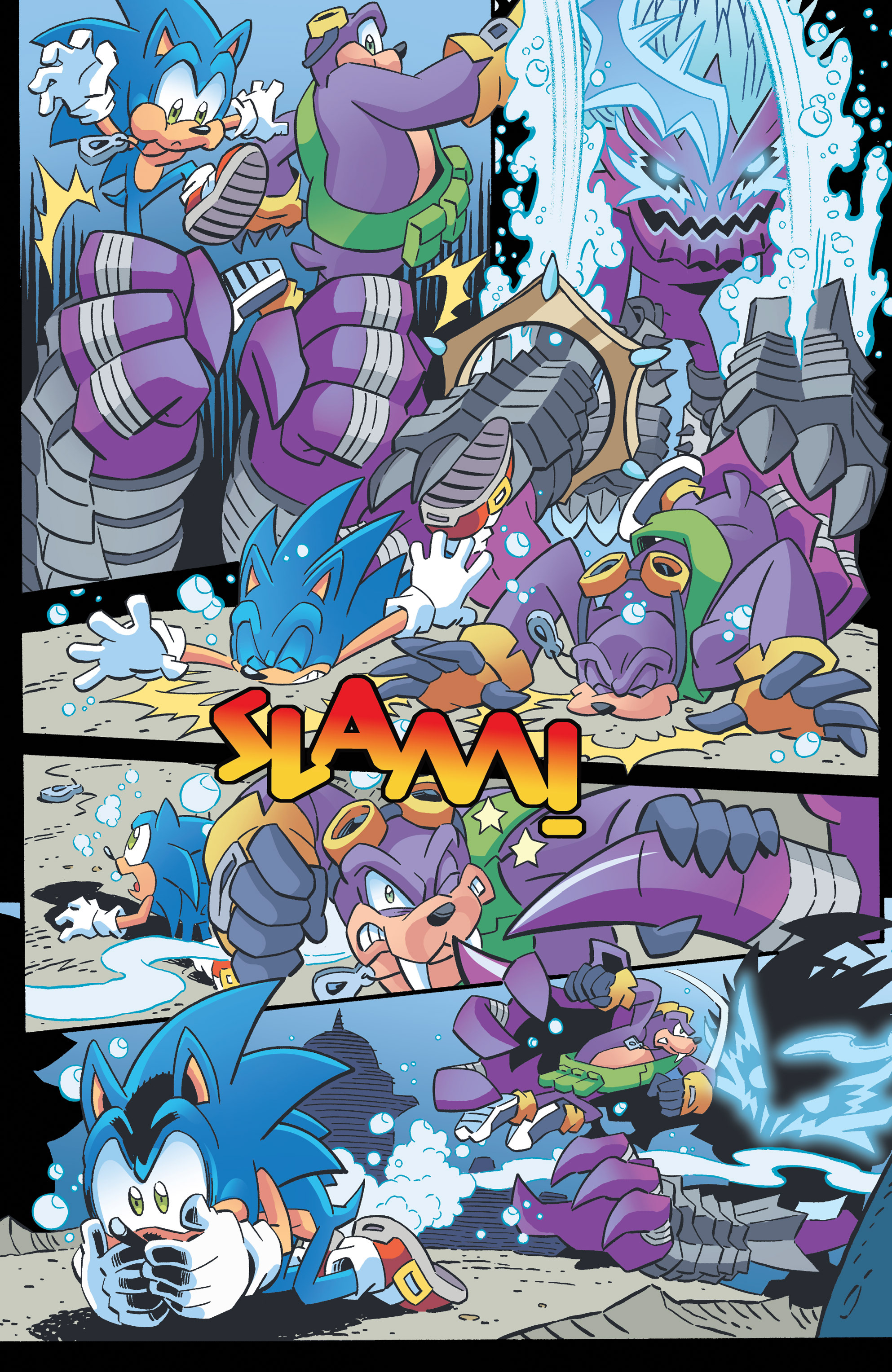 Read online Sonic The Hedgehog comic -  Issue #262 - 16