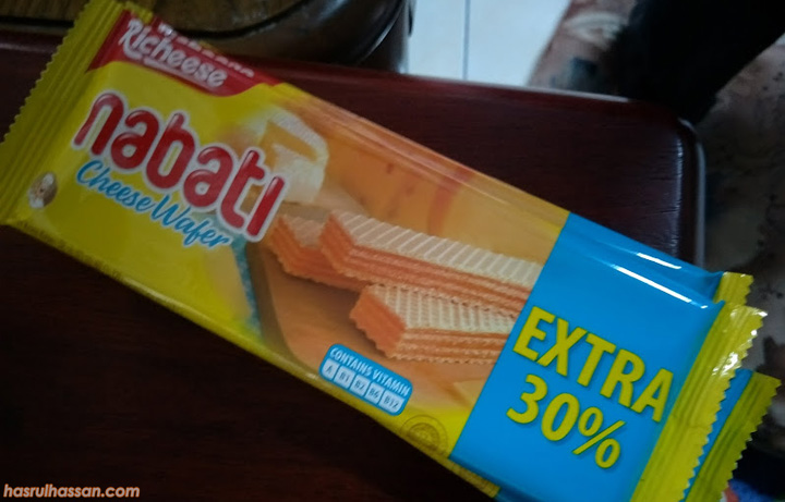 Biskut Wafer Cheese Nabati