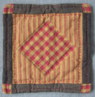 quilted hotpad