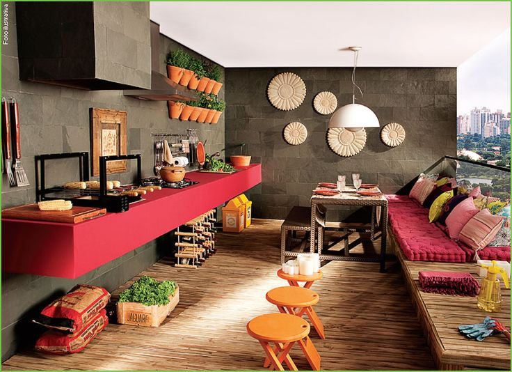 Cantinhos de churrasco reciclar e decorar blog de for Decorar interiores 3d