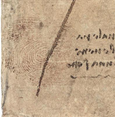 Μοναδική ανακάλυψη: Αποτύπωμα του Ντα Βίντσι εντοπίστηκε σε σχέδιο 500 ετών