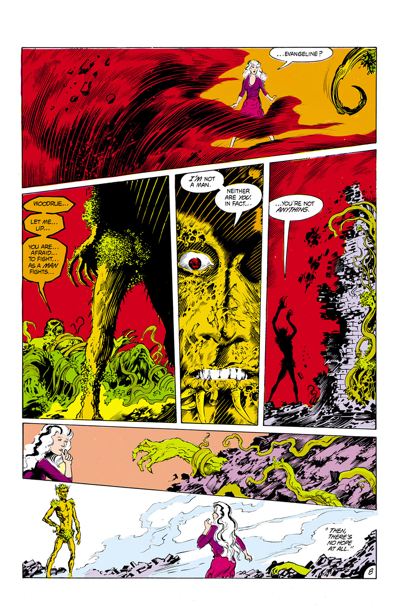 Swamp Thing (1982) Issue #24 #32 - English 9