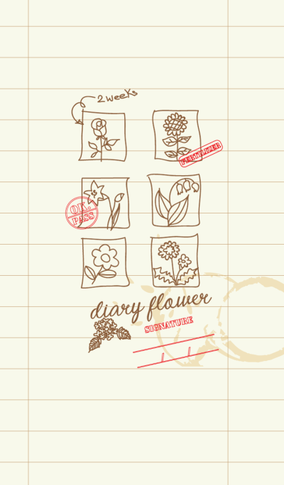 diary flower