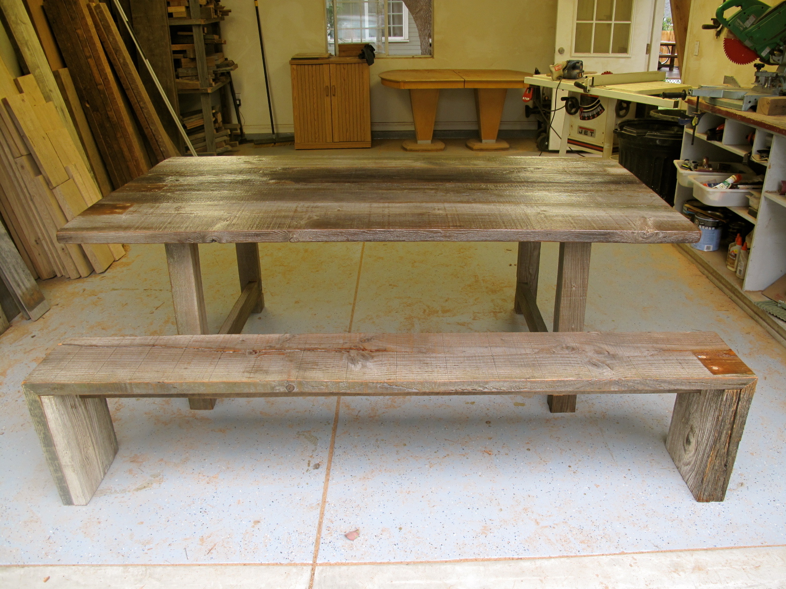 Reclaimed Wood Furniture: Silver