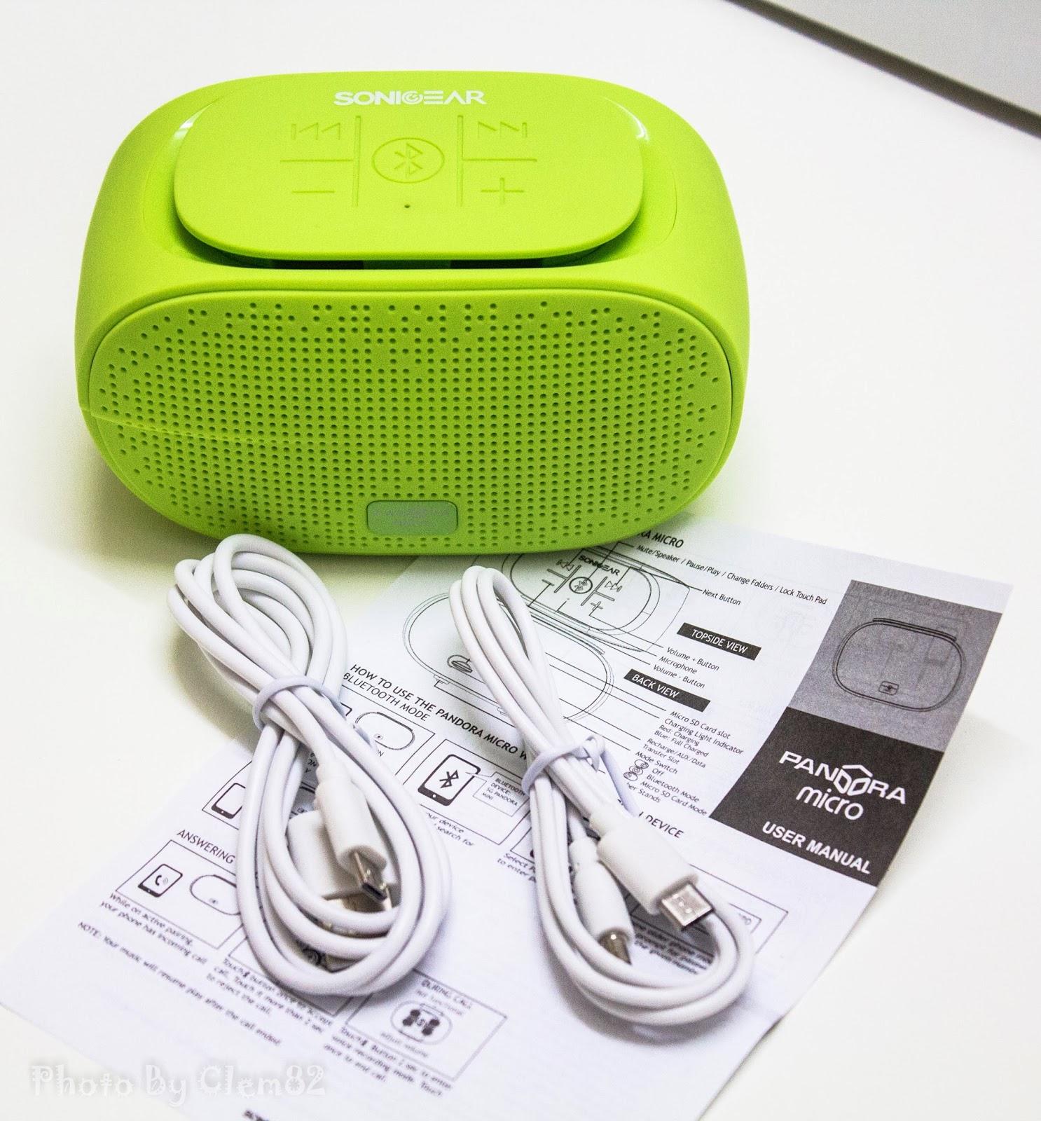 Opening Pandora's Box: SonicGear Pandora Wireless Bluetooth Media Player Series 5