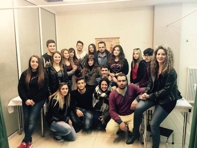 Εκπαιδευτικη επίσκεψη του Δ.ΙΕΚ Άργους στο Kέντρο Φυσικοθεραπείας του Βασίλη Σιδέρη