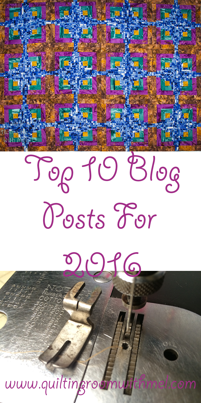 top ten quilting and sewing machine posts