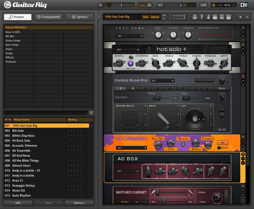 Native Instruments - Guitar Rig 5 Pro v5.2.2 Full version free download