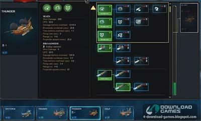 لعبة حرب سفن الهواء Cloud Pirates