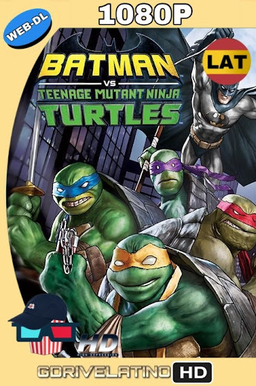 Batman vs. las Tortugas Ninja (2019) WEB-DL 1080p Latino-Ingles MKV
