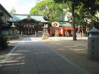 Temple at Koshien Stadium