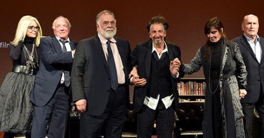 SISTER SISTER: The Godfather: Al Pacino, Di Nero, Other Cast And Crew ... Al Pacino