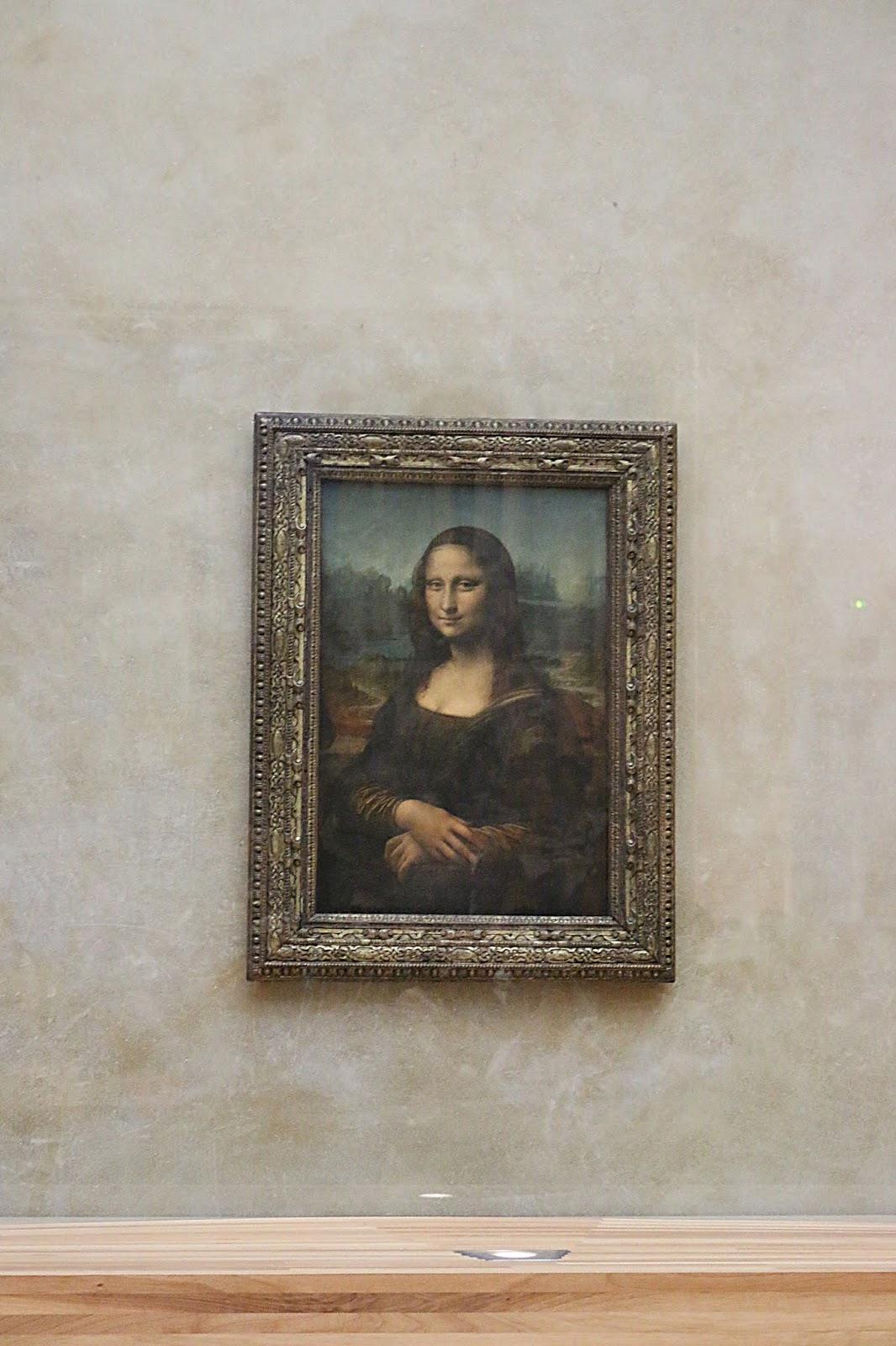 Paris Mona Lisa Louvre Museum