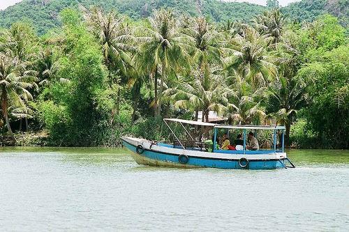 du ngoạn trên sông cái, Nha Trang