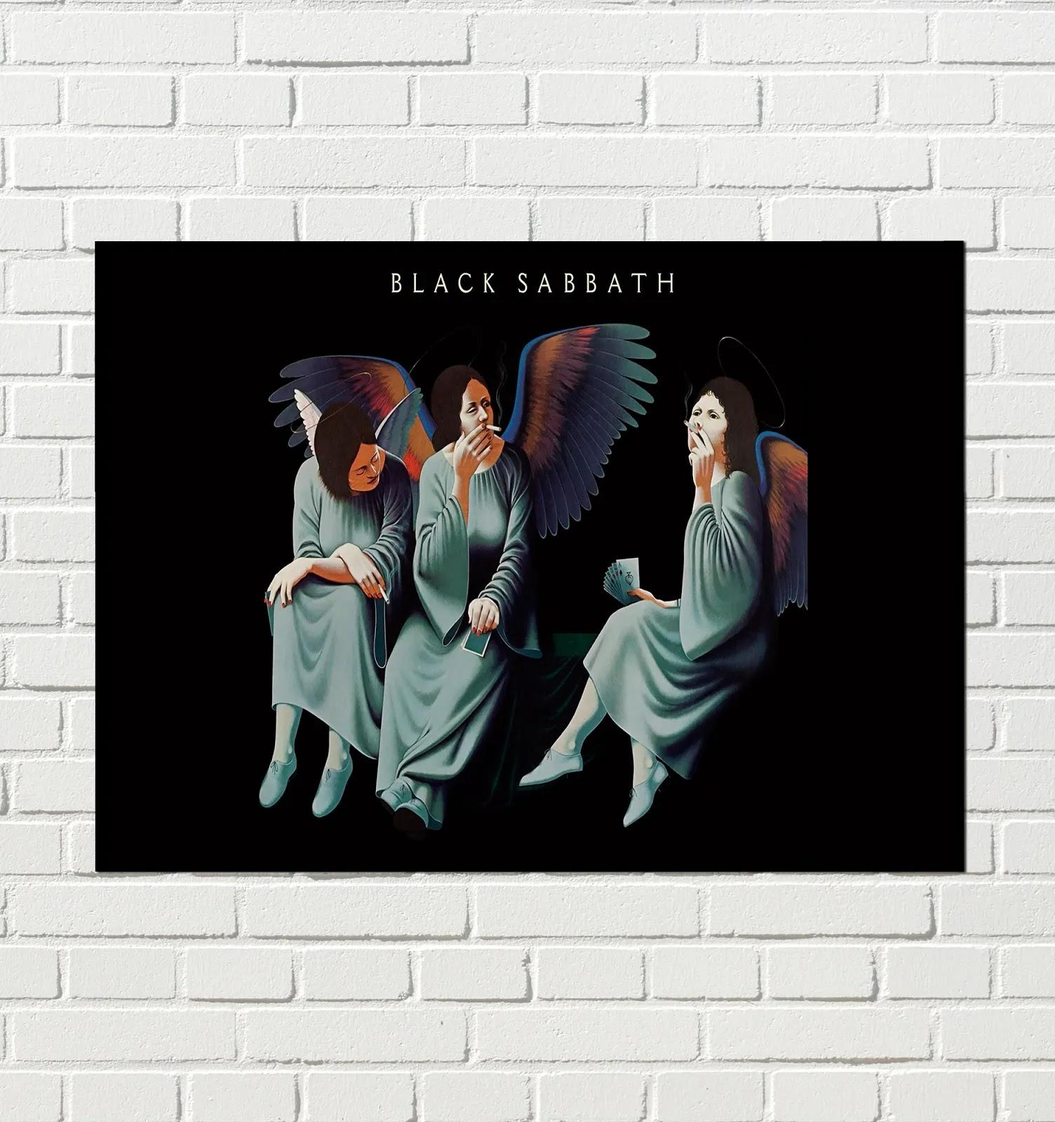 Cuadro Black Sabbath - Heaven and Hell