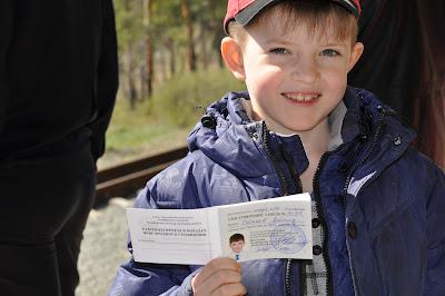 Юный железнодорожник Челябинской детской железной дороги