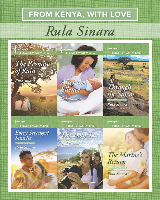 From Kenya with Love series covers