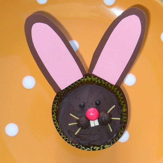 cupcacke de Pâques, dessert au chocolat