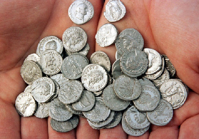 Stash of Roman coins found at UK building site