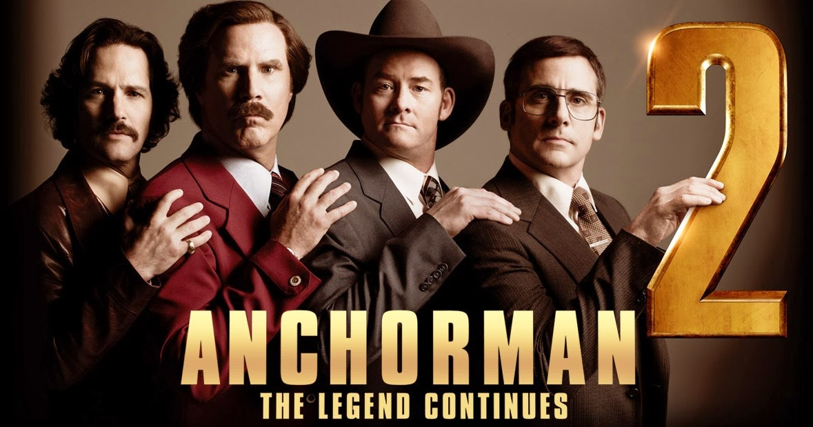 An all new, R rated version of Anchorman 2: The Legend Continues hitting theaters