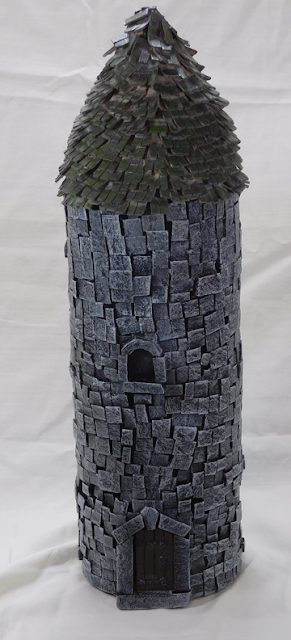 Wonky Wizard's Tower with a Crappy Roof