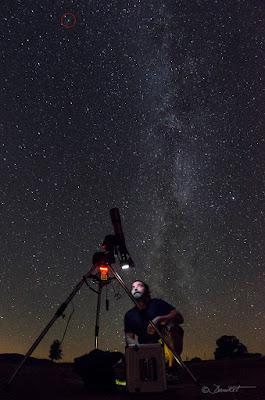 Fotografiando con Telescopio Dani Caxete