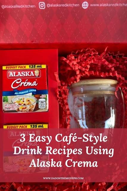 Café-style drink recipes using Alaska Crema