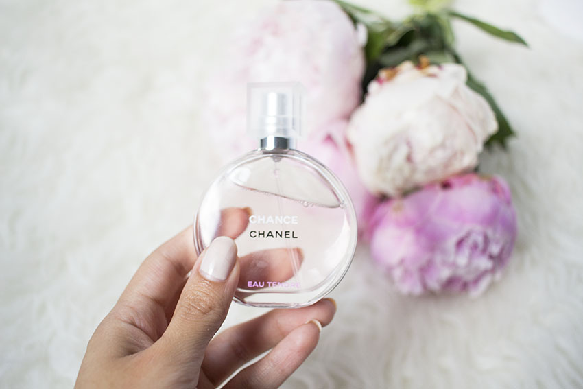 Chanel Chance Eau Tendre Pink Peonies Flowers Pretty
