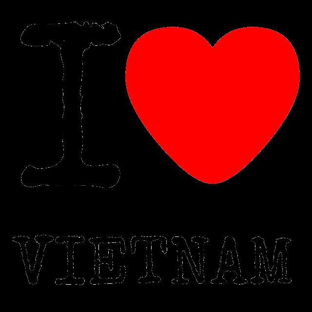 Nhận làm Áo Thun I Love Viet Nam