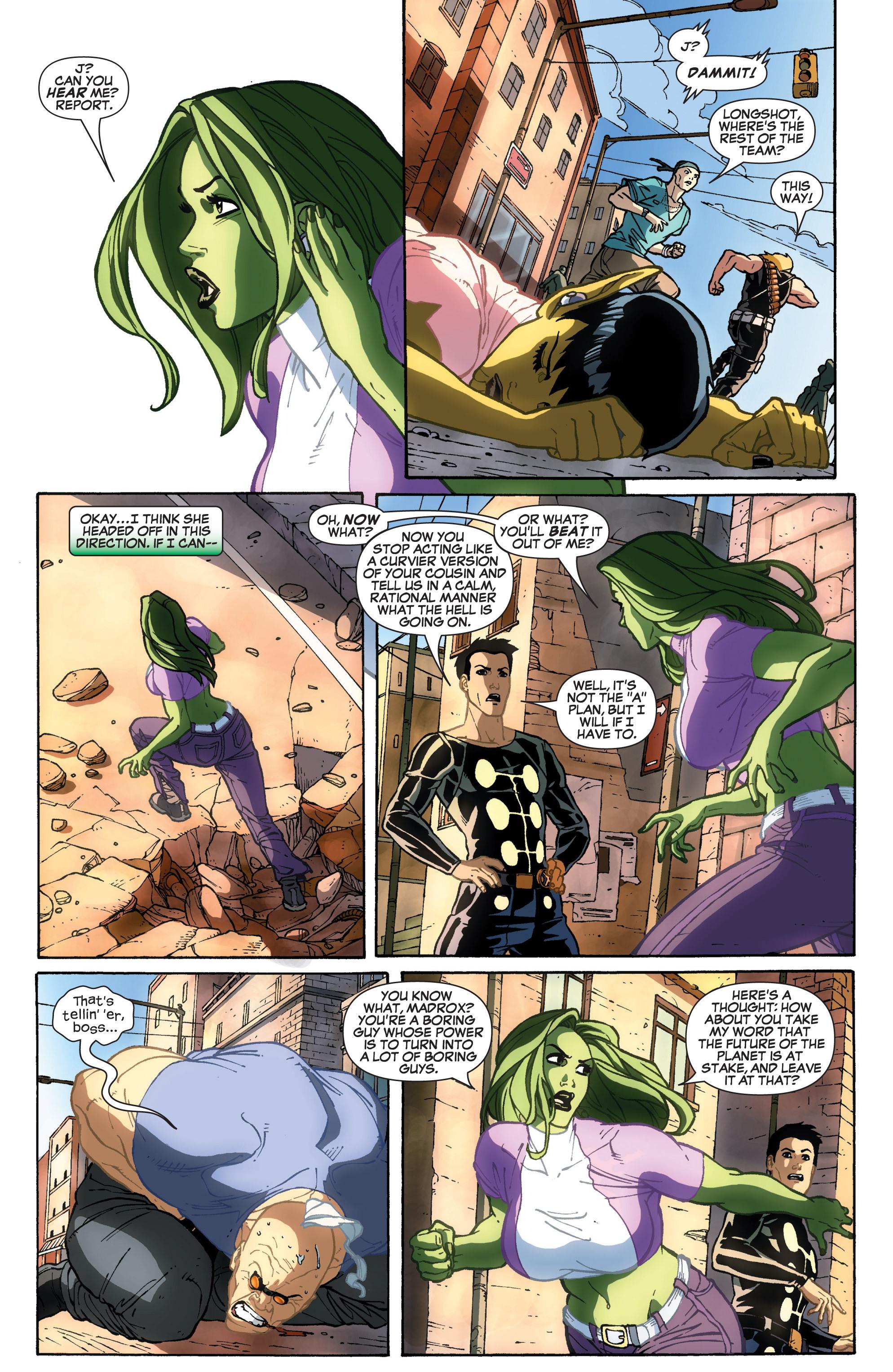 Read online She-Hulk (2005) comic -  Issue #31 - 18