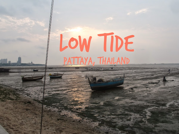 Low Tide at มุมอร่อย - Pattaya, Thailand VIDEO