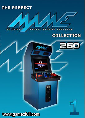 MAME 32 ARCADE Collection Roms 260 Juegos PC Full
