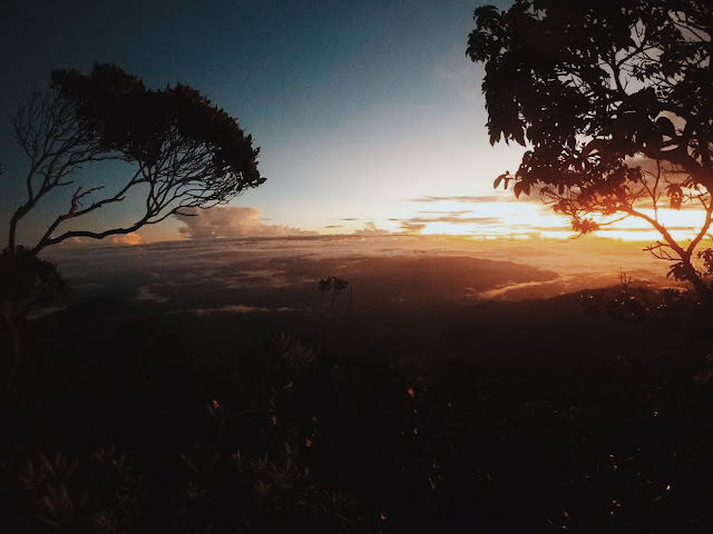 Sunrise mount Tambuyukon