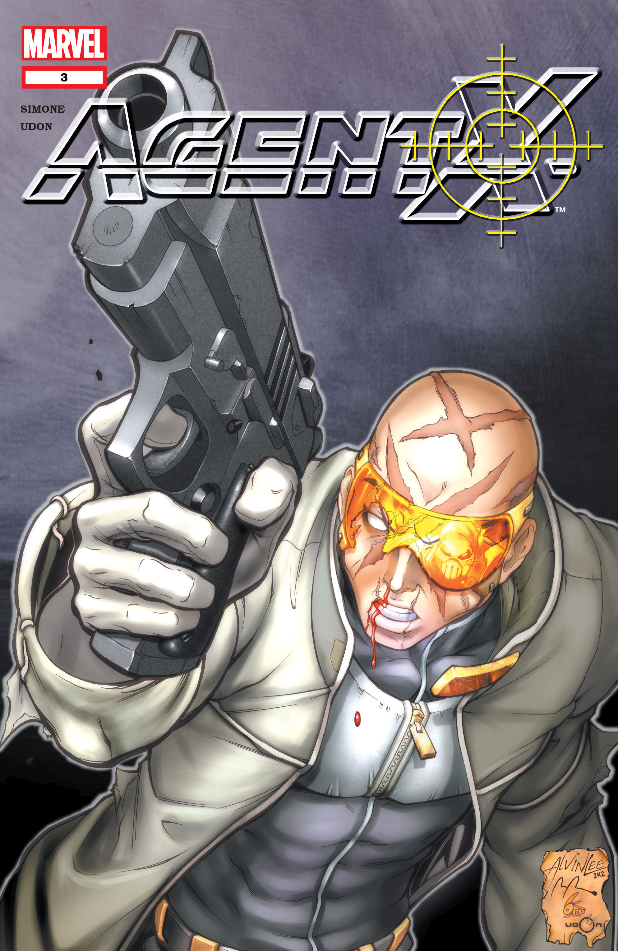 Read online Agent X comic -  Issue #3 - 1