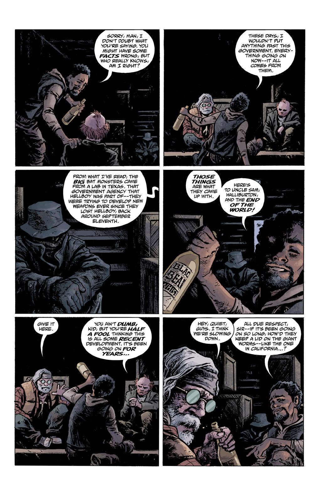 Read online Abe Sapien comic -  Issue #1 - 15