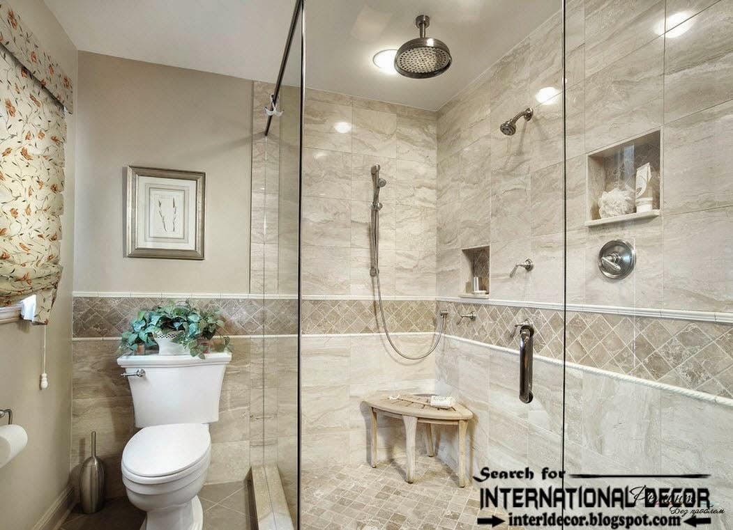 Latest beautiful bathroom tile designs ideas 2017 on Bathroom Tile Designs  id=83663