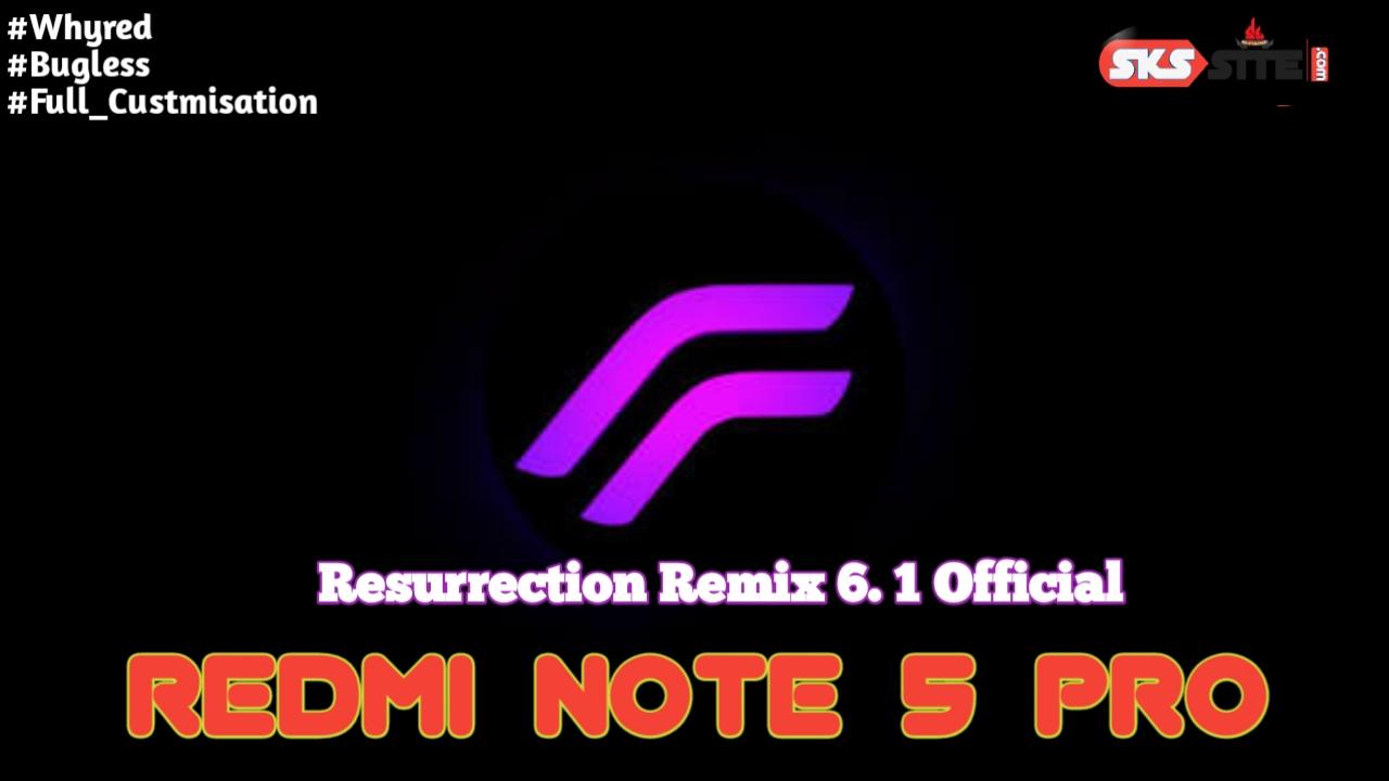 Resurrection Remix Whyred