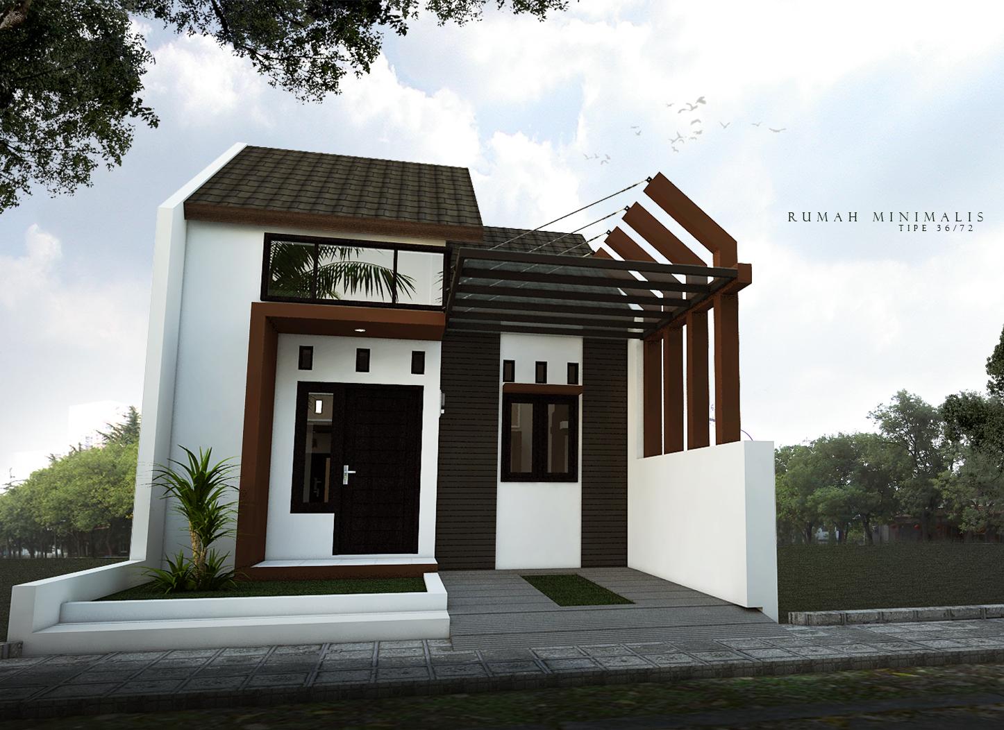 Download Desain  Rumah Type  36  dalam Ukuran Asli di atas