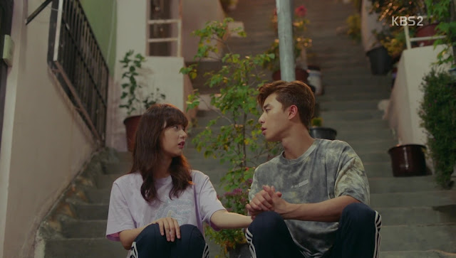 Choi Ae-ra and Ko Dong-man_Fight for My Way